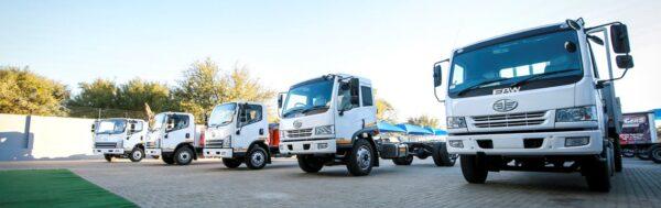 Range Faw Trucks